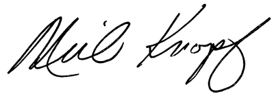 Neil Knopf signature
