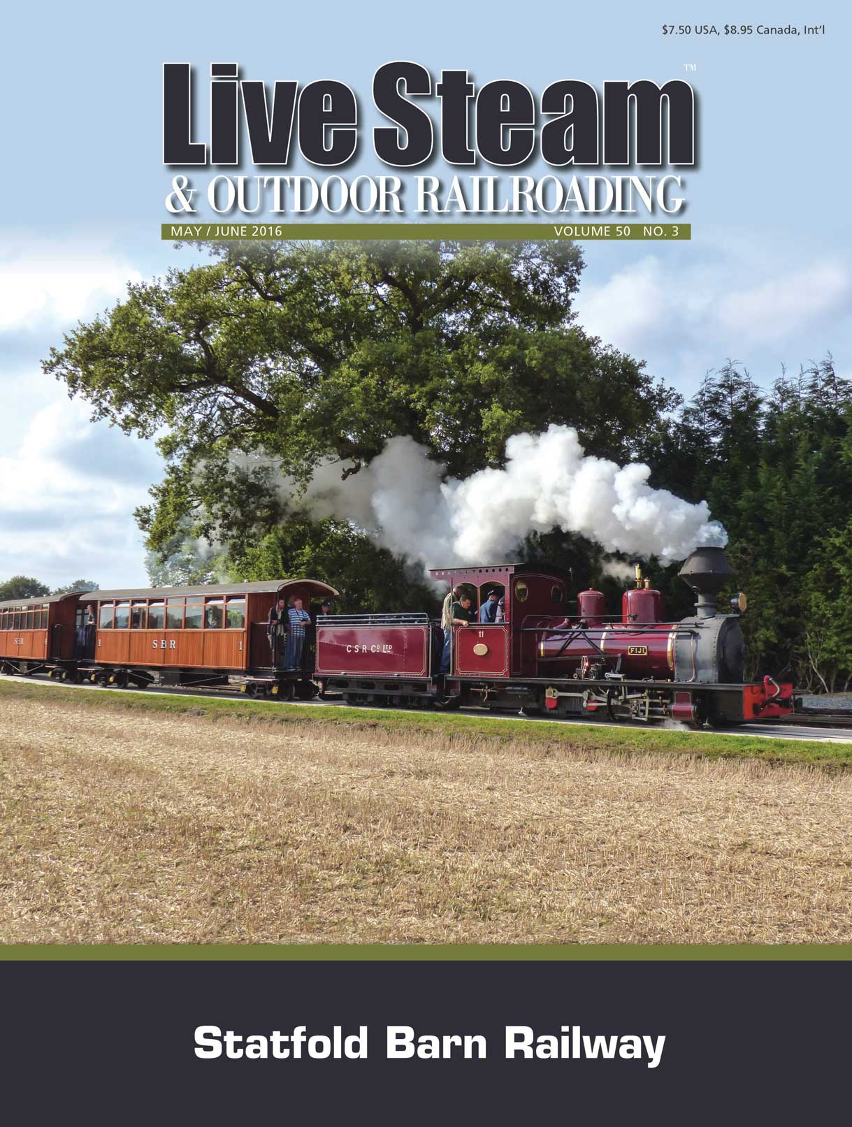 Live Steam March April 2016